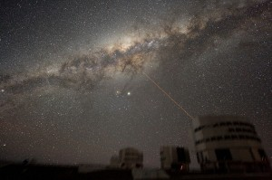 """ESO-VLT-Laser-phot-33a-07"" by ESO - http://www.eso.org/gallery/v/ESOPIA/Paranal/phot-33a-07.tif.html. Licensed under Creative Commons Attribution 3.0 via Wikimedia Commons - http://commons.wikimedia.org/wiki/File:ESO-VLT-Laser-phot-33a-07.jpg#mediaviewer/File:ESO-VLT-Laser-phot-33a-07.jpg"